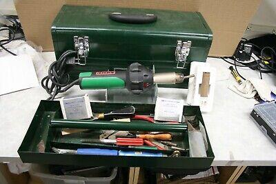 Leister Triac Bt Plastic Welder Hot Air Heat Gun 120v 1550w With Case Wextras