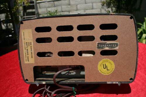 Philco Transitone Radio 46-200 Reproduction Backs / Covers