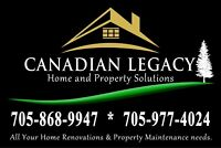 Yard and Property Cleanup Services!