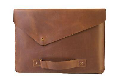 Genuine Leather Vintage Case for Apple MacBook Pro Air 11