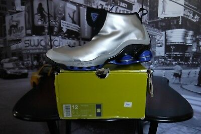 2002 NIKE SHOX VC 1 VINCE CARTER Silver US 12 UK 11 EU 46 NEW RARE AUTHENTIC
