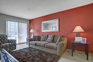 Beautiful 2 Bedroom With Red Accent Wall-University  Heights!