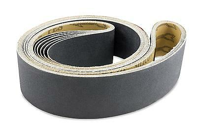2 X 72 Inch 100 Grit Silicon Carbide Sanding Belts 6 Pack
