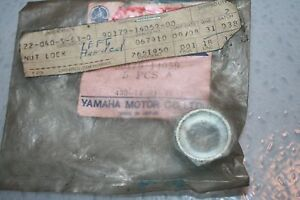 nos-Yamaha-snowmobile-brake-rotor-nut-1976-pr440-1974-tl433-f