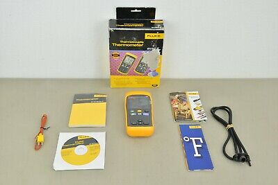 New Fluke 51 Ii Thermocouple Digital Thermometer Accessories 21545 H42