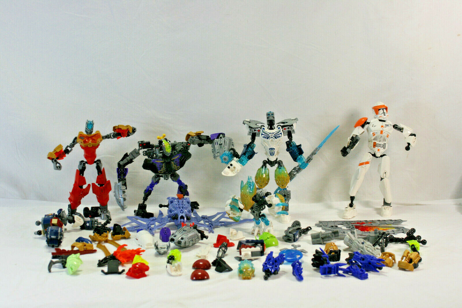 LEGO BIONICLE Hero Factory Bulk Lot 2 lbs Pounds of RANDOM Parts /& Pieces MOCs