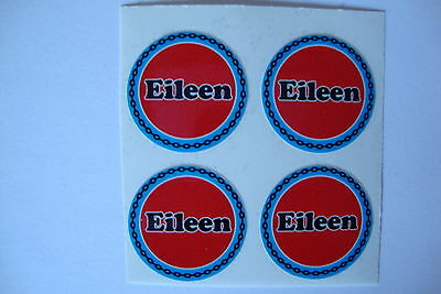 """12  Eileen CROWN GREEN BOWLS STICKERS  1""""   LAWN  FLATGREEN  AND INDOOR BOWLS"""