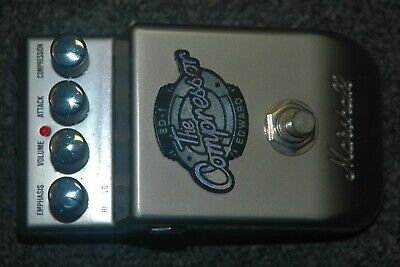 Marshall ED-1 Edward the Compressor Guitar Effects Pedal
