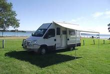 2007 IVECO Daily 35S14 Motorhome - Auto - RV Camper Caravan Van Pelican Lake Macquarie Area Preview