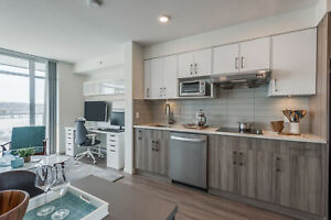 BRAND NEW, LUXURY STUDIO RENTALS STEPS FROM NEW WEST STATION!