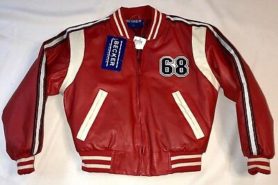 Vintage Becker High Fashion 1980's-90's Child Jacket Boys Size 6 New NWT