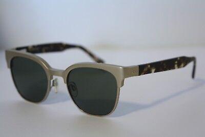 RAEN Metal Frame Tortoise Arms Polarized Lens Quality Sunglasses NEW