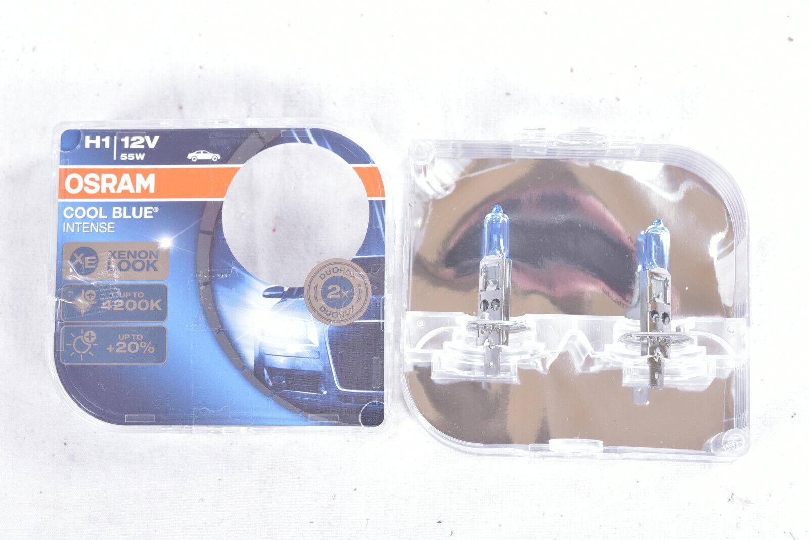 Osram COOL BLUE INTENSE H1 Glühlampen Lampe Scheinwerfer Set 4200K