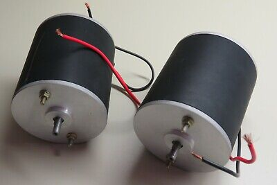 Lot Of 2.. Powerful 12v Dc Motor 3.2 115hp 2150rpm Reversiblevariable Speed