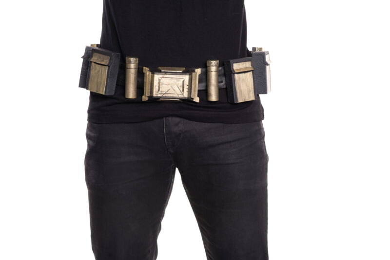 Batman Utility Belt Adult Costume Movie Dawn Justice Prop Cosplay Accessory Gift