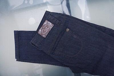BLUE FIRE Nancy Damen Stretch Jeans Hose Gr.36 W28 L32 navy Leder optik NEU ad29, usado segunda mano  Embacar hacia Spain
