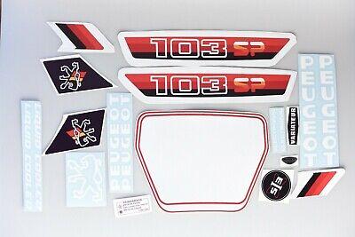 kit autocollant stickers mobylette peugeot 103 slc