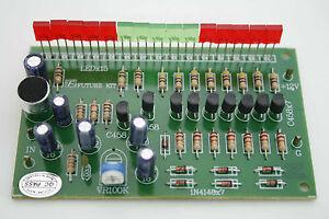 Wireless-VU-Meter-15-LED-Sound-Level-Detector-MIC-Kit