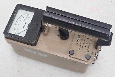 Ludlum Inc. Model 6 Geiger Counter