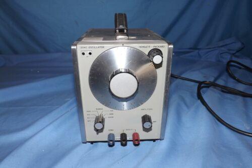 Hewlet Packard 204C Oscillator