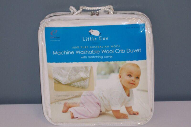 BABY WOOL CRIB DUVET-100% Australian Wool + Cover