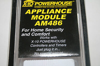 X-10 Powerhouse Appliance Module MODEL AM486 White Color New Old Stock Sealed for sale  Bayfield