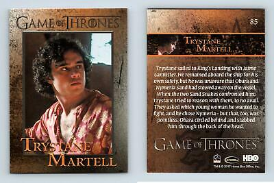 Trystane Martell #85 Game Of Thrones Season 6 Rittenhouse 2017 Trading Card