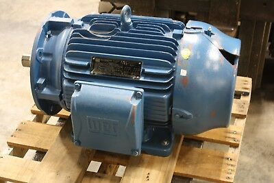New Weg 30 Hp W22 Motor 1775 Rpm 180lff 208230460v Tefc Tru-metric