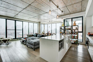 3br - 1450ft2 - 3 beds-3 baths, PENTHOUSE Nordelec, private terr