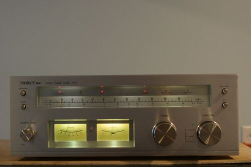 Rare Project One Stereo Tuner Mark 200. Works, Re-lamped. Please Read.