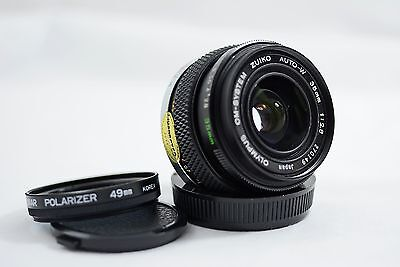 Olympus Om 35Mm F2 8 Auto Zuiko Camera Lens
