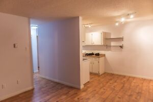 1 bed + den, steps to downtown. Avail dec 1st