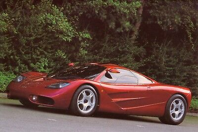 McLaren F1 Supercar Car Jumbo Fridge Magnet