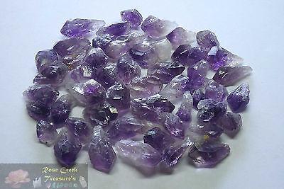 Amethyst Points 1 4 Lb Lots Natural Dark Purple Geode Crystals Uruguay