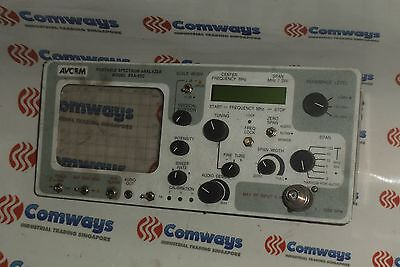 Avcom Psa-65c Portable Spectrum Analyzer Complete Front Panel Only
