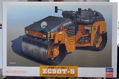 Hitachi ZC50T-5 Vibrations Asphalt Walze 1:35 Hasegawa 66101