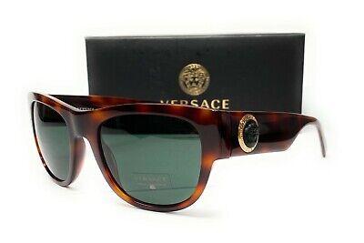 Versace VE4359 521771 Havana Green Men's Sunglasses 55 mm