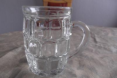 Bierglas, Glaskrug  0,25 Liter