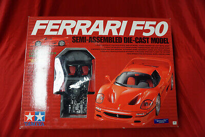 ZR TAMIYA 1/12 Ferrari F50 Semi-Assembled Diecast Model 4950344232031