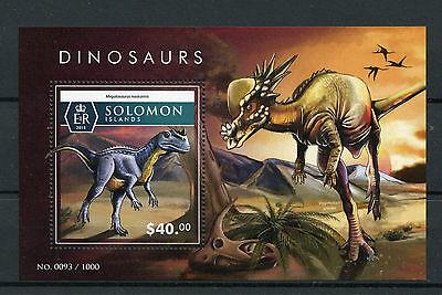 Solomon Islands 2015 MNH Dinosaurs 1v S/S Megalosaurus nasicornis