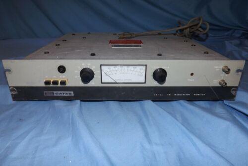 Gates FT 80 FM Modulation  Broadcast Monitor