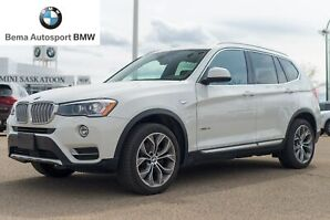 2017 BMW X3 Xdrive28i No Accidents, Super Low KM!, One Owner.