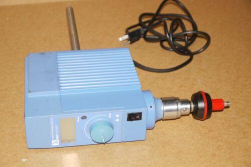 IKA CONTROL-VISC STIRRER EUROSTAR PWR CV S1 LABORATORY MIXER 115V 50-2000RPM