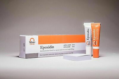 Epoxidin Dental Product Sealer Based On Epoxy Amine Resin Same As Ah Plus .