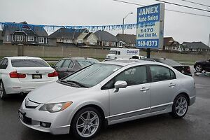 2011 Acura CSX i-Tech LEATHER HTD SEATS & ROOF