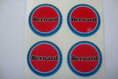 "16  Bernard Bowls Stickers   1"" CROWN GREEN BOWLS  LAWN BOWLS FLATGREEN"