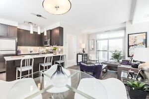 Bright Two Bedroom plus Den Corner Unit in Uptown Waterloo