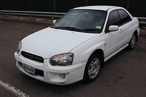 2004 Subaru Impreza Sedan Surry Hills Inner Sydney Preview