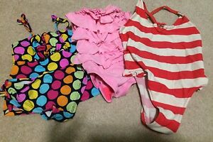 Three 2t bathing suits
