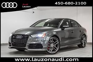 2016 Audi S3 2.0T TECHNIK NAV CAM BLACK OPTICS 19